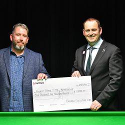 RaMaRa Consulting Ltd Sponsor World Seniors Snooker Event Prizes